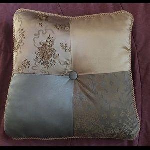 Home Decor Satin Throw Pillow